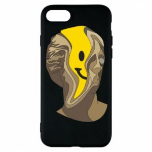 Phone case for iPhone 8 Plaster figure with a smiley