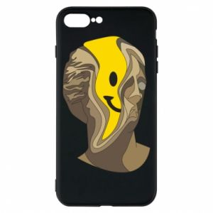 Phone case for iPhone 8 Plus Plaster figure with a smiley