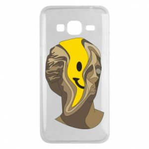 Phone case for Samsung J3 2016 Plaster figure with a smiley