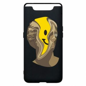 Phone case for Samsung A80 Plaster figure with a smiley