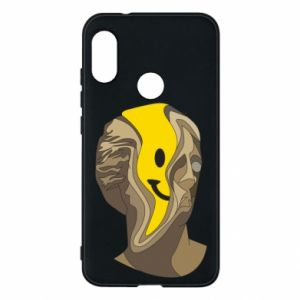 Phone case for Mi A2 Lite Plaster figure with a smiley