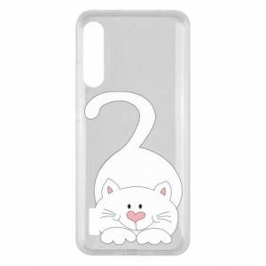 Etui na Xiaomi Mi A3 Playful white cat