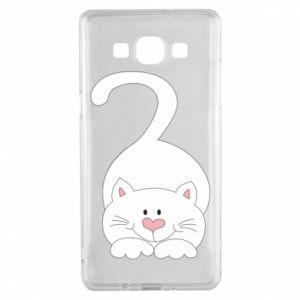 Etui na Samsung A5 2015 Playful white cat
