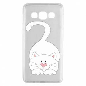 Etui na Samsung A3 2015 Playful white cat