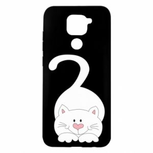 Etui na Xiaomi Redmi Note 9/Redmi 10X Playful white cat