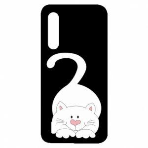 Etui na Xiaomi Mi9 Lite Playful white cat