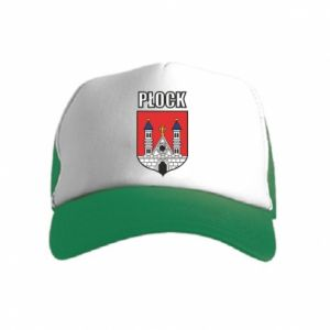 Kid's Trucker Hat Plock emblem