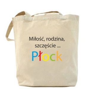 Torba Miłość, rodzina, szczęście... Płock - PrintSalon