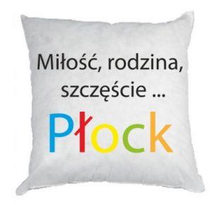 Poduszka Miłość, rodzina, szczęście... Płock - PrintSalon