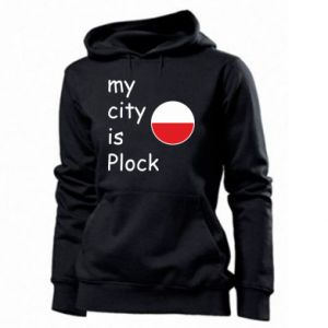 Damska bluza My city is Plock