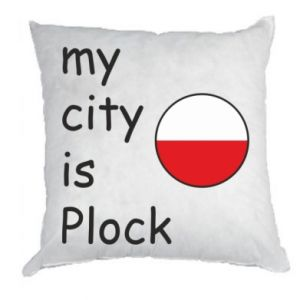 Poduszka My city is Plock