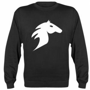 Bluza (raglan) Płonący koń - PrintSalon