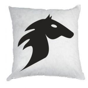 Poduszka Płonący koń - PrintSalon