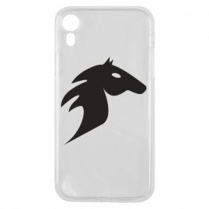 Etui na iPhone XR Płonący koń