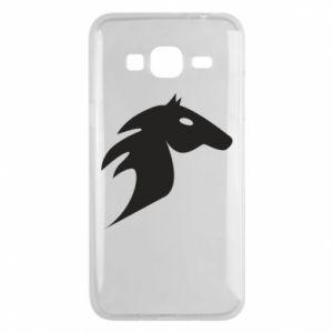 Etui na Samsung J3 2016 Płonący koń