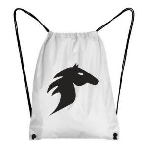 Plecak-worek Płonący koń