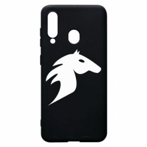Phone case for Samsung A60 Horse flame