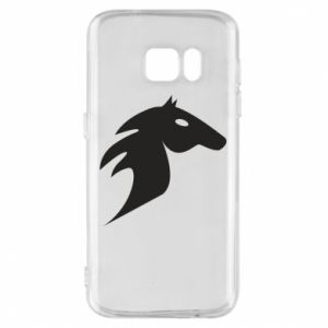 Etui na Samsung S7 Płonący koń