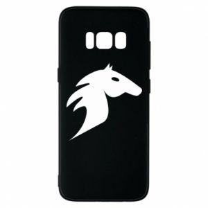Etui na Samsung S8 Płonący koń