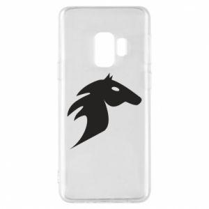 Etui na Samsung S9 Płonący koń