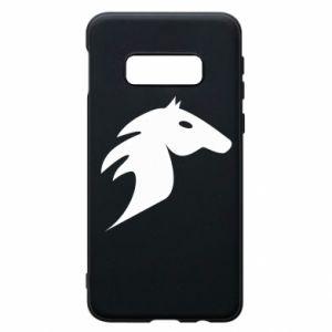 Etui na Samsung S10e Płonący koń