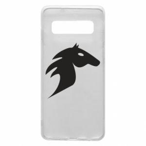 Etui na Samsung S10 Płonący koń