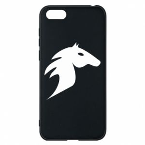 Phone case for Huawei Y5 2018 Horse flame