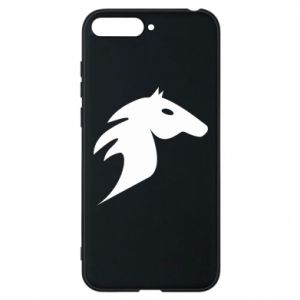 Phone case for Huawei Y6 2018 Horse flame