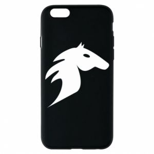Phone case for iPhone 6/6S Horse flame