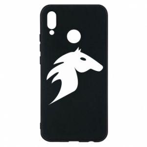 Etui na Huawei P20 Lite Płonący koń