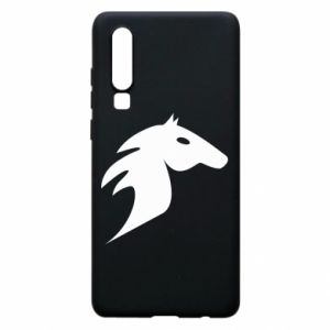 Phone case for Huawei P30 Horse flame