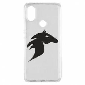 Etui na Xiaomi Mi A2 Płonący koń
