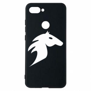 Phone case for Xiaomi Mi8 Lite Horse flame