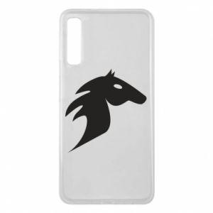 Etui na Samsung A7 2018 Płonący koń