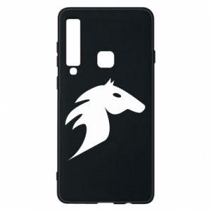 Etui na Samsung A9 2018 Płonący koń
