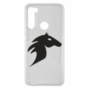Etui na Xiaomi Redmi Note 8 Płonący koń
