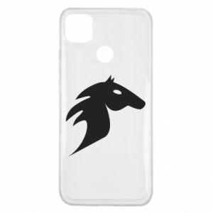 Etui na Xiaomi Redmi 9c Płonący koń