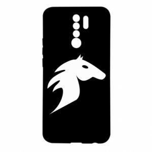 Etui na Xiaomi Redmi 9 Płonący koń