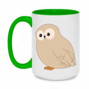Kubek dwukolorowy 450ml Plump owl