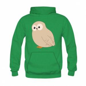 Bluza z kapturem dziecięca Plump owl
