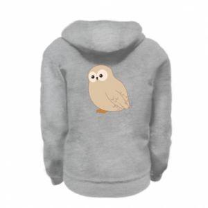 Bluza na zamek dziecięca Plump owl