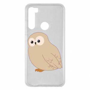 Etui na Xiaomi Redmi Note 8 Plump owl