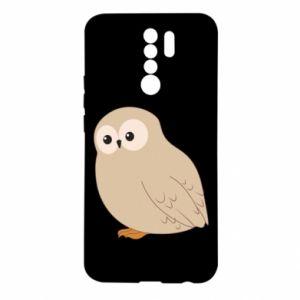 Etui na Xiaomi Redmi 9 Plump owl