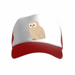Czapka trucker dziecięca Plump owl