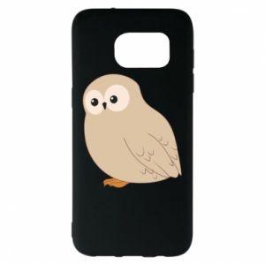 Etui na Samsung S7 EDGE Plump owl