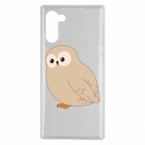Etui na Samsung Note 10 Plump owl