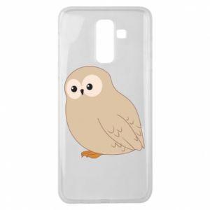 Etui na Samsung J8 2018 Plump owl