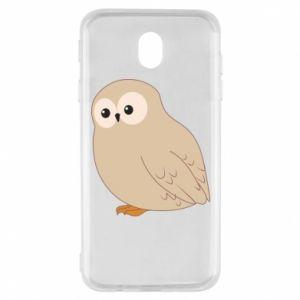 Etui na Samsung J7 2017 Plump owl