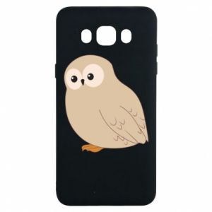 Etui na Samsung J7 2016 Plump owl