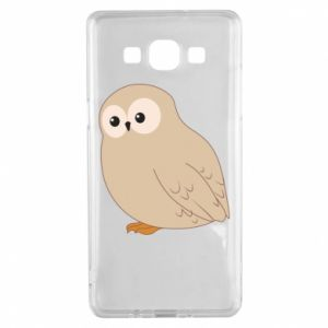 Etui na Samsung A5 2015 Plump owl